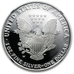 2005-W Proof Silver American Eagle PF-70 NGC (Retro Black Insert)